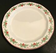 Porsgrund Norway Hearts And Pines 1 Bread Butter Plate Multisided