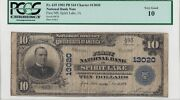 1902 First National Bank In Spirit Lake, Iowa Ia 10 Note Ch 13020 Pcgs Vg 10