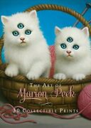 Art Of Marion Peck 30 Collectible Prints A Portfolio Of 30 Deluxe Postcard...