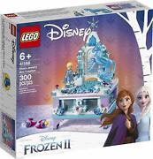 Lego Frozen 2 Elsaand039s Jewelry Box Collection [41168 300 Pieces Ages 6+] New