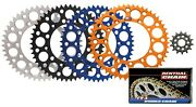 Renthal Ultralight Front And Rear Sprockets And R1 Works Chain Kit For Husqvarna Ktm