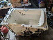 Safe Step Walk-in Tub Deluxe Deep Soaking Model. Used Less Than 10 Times.