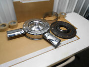 Real Gm 1963 1964 1965 Chevy 409 Orig Duel Snorkel 1x4 Air Cleaner Super Sport