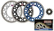 Renthal Grooved / Twinring Sprocket And R1 Works Chain Kit For Yamaha Yz250 Yz450f