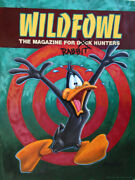 Andrea Alvin Signed Daffy Duck Limited Edition Giclee On Canvas 2014 Ed Of 40
