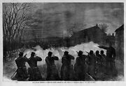 Fenian Uprising In Ireland Night Attack On The Police At Tallaght 1867 History