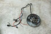Sears Sr 250 Sr250 Allstate Puch Twingle Stator Generator And Points