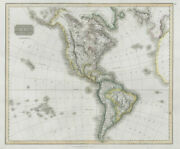 America. North/south Americas. California Missions. Thomson 1830 Old Map