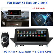 For Bmw X1 E84 Low Class 2009-2015 10.25 Lcd Touch Black Screen Car Stereo Gps