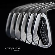 Maruman Golf Japan Majesty Conquest Bk Maraging Irons 56789pw Nspro 2021c