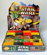 Vintage 1999 Star Wars Tv Candy Store Counter Display Full Box 20 Containers
