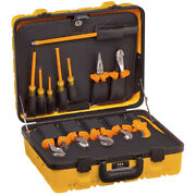 New Klein Tools 33525 13-piece Utility Insulated Tool Kit With Case Usa Made