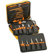 New Klein 33527 General Purpose Insulated Toolkit 22 Piece Electrician Tool Set