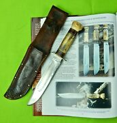 Rare Us Ww2 Marbles Gladstone 2 Line Stamp Ideal 4 Pins Large Hunting Knife
