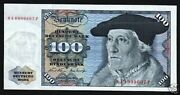 Germany 100 Marks P-34 A 1970 Munster Unc Eagle Euro German Currency Money Note