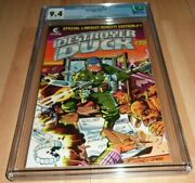 Destroyer Duck 1982 1...cgc 9.4...1st Groo The Wanderer..kirby Comic History