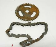 1976-82 Chevy Luv 4 Cyl New Muskegon Timing Chain And Cam Gear W/rust Ms501