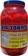 Big Johnand039s Pickled Eggs - Gallon