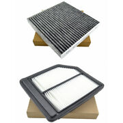 Combo Set Engine And Cabin Air Filter For Honda Civic 1.8l 2006-2011