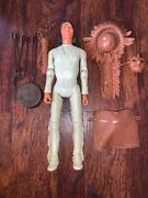 Vintage Marx Johnny West Geronimo Action Figure With Accessories