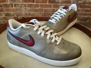 Nike Zinc Leather Air Zoom Infiltrator Skateboard Basketball Womenand039s 11.5 New