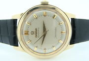 Rare Vintage Omega Seamaster 14k Yellow Gold 500 Automatic Watch