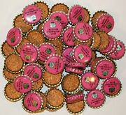 Soda Pop Bottle Caps Lot Of 100 Canada Dry Strawberry 1 Unused New Old Stock