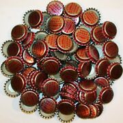 Soda Pop Bottle Caps Lot Of 100 Mission Cherry Plastic Lined New Old Stock