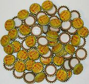 Soda Pop Bottle Caps Lot Of 100 Squirt 6 For 1 Cent Cork Lined New Old Stock