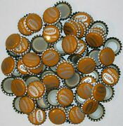 Soda Pop Bottle Caps Lot Of 100 Whistle Peach Plastic Lined Unused New Old Stock