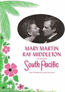 Mary Martin South Pacific Ray Middleton / Rodgers And Hammerstein 1950 Program