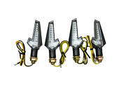 Led Sequential Flow Wave Full Set 4 Indicators For Piaggio Fly 125 2005 - 2009