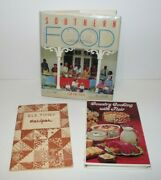 3 Vintage Cookbook, Southern Food, Old Timey Recipes, Country Cooking With Flair