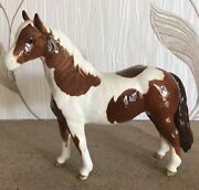 Beswick Horse Pony Pinto Skewbald Brown And White Gloss No 1373 Perfect