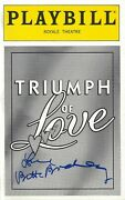 Betty Buckley Signed Triumph Of Love F. Murray Abraham 1997 Flop Playbill