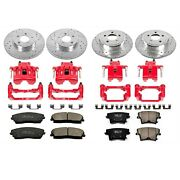 Powerstop Kc1715 Sport Front Rear Brake Upgrade Daily-driver For 05-11 Chrysler