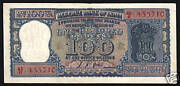 India 100 Rupees P62 A 1970 Dam Unc Pcb Sign World Money Bill Indian Bank Note
