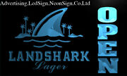 Landshark Lager Beer Bar Led Neon Sign Bar Beer Pub Club 3d Signs