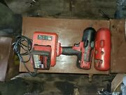 Snap-on Tools 18v 1/2 Drive Cordless Monsterlithium Impact Wrench Green Ct8850g
