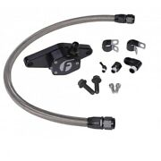 Fleece Coolant Bypass Kit With Stainless Steel Lines For 94-98 5.9l Cummins