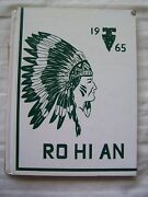 1965 Rouge River High School Yearbook Rouge River, Oregon Ro Hi An