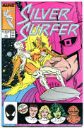Silver Surfer 1 2 3, 5 6, 9 10 11 12 13 14 15 16-24, 27, Vf/nm 1987, 22 Issues