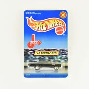 And03967 Pontiac Gto - Hot Wheels Jiffy Lube Exclusive - New In Box