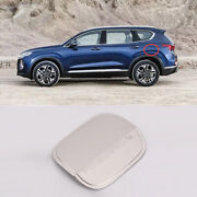For Hyundai Santa Fe 2019-2020 Stainless Steel Outer Fuel Tank Cap Oil Gas Trim