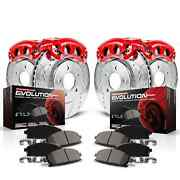Power Stop Kc2027 Power Stop 1-click Brake Kit W/calipers For Avalanche 2500