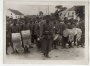 Wwi Drummers French Moroccan Division 5x7 M. Rol Original Photo