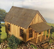 Carland039s Cabin O On30 Model Railroad Structure Unpainted Wood Laser Kit Rsl1048t