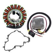 Kimpex Hd Stator Mosfet Voltage Regulator Rectifier And Crankcase Cover