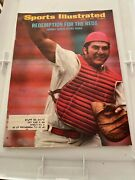 Sports Illustrated Magazine - March 13, 1972- Johnny Bench