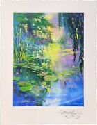 James Coleman Lily Reflections | Signed Silkscreen | Remarqued | Make An Offer